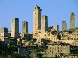 サンジミニャーノの歴史地区 : ...