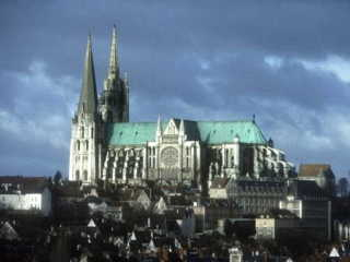 シャルトル大聖堂 世界遺産写真 位置図  世界遺産巡り