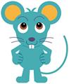 ネズミのすもう