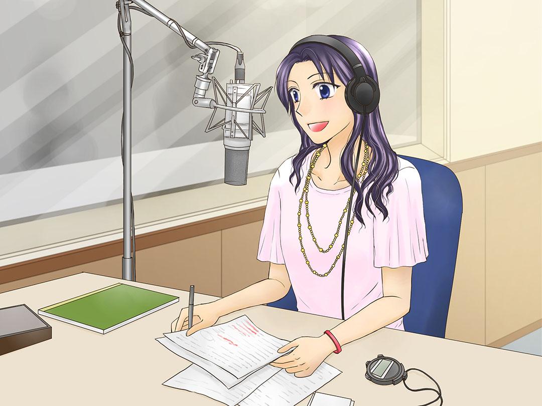 ラジオパーソナリティ/ラジオDJ(Radio personality) 女の子に ...